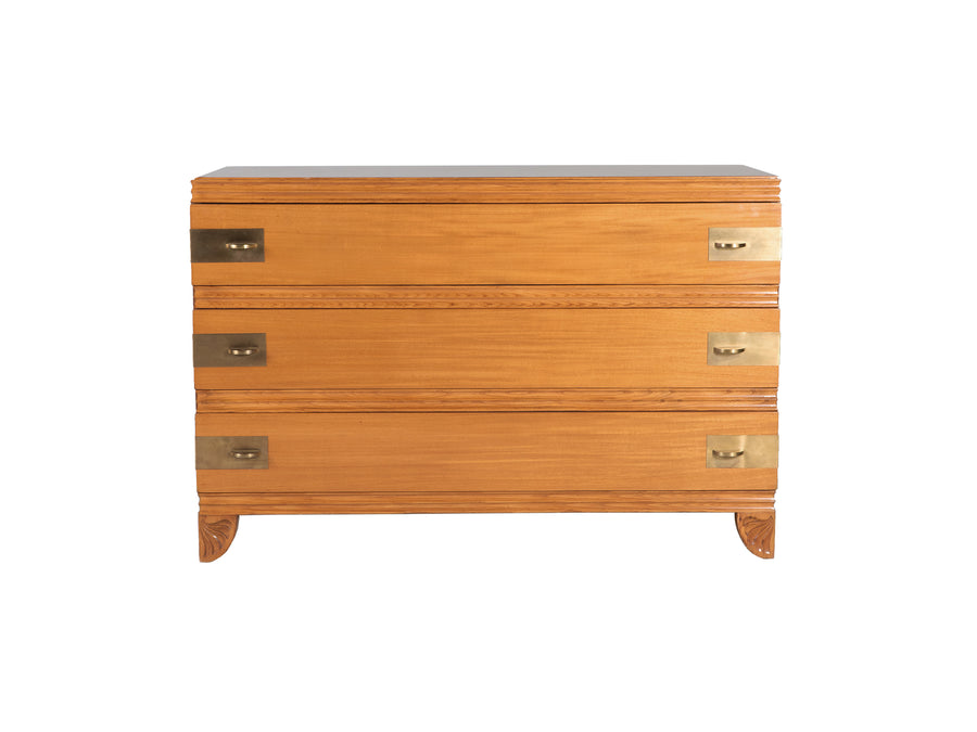 Midcentury Birch Chest of Drawers by John Stuart