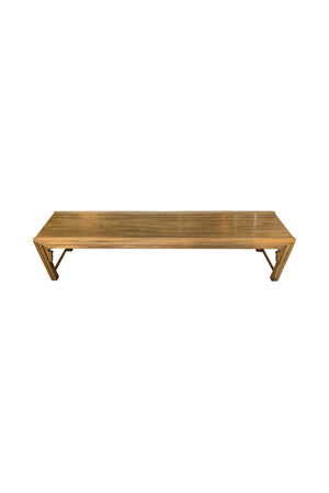 Mid-Century Modern Walnut Coffee Table by Bert England for Widdicomb