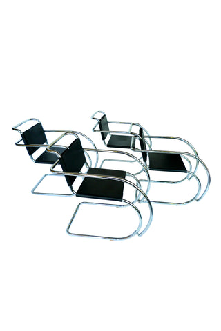 Mies Van Der Rohe MR Chairs - a Set of 4