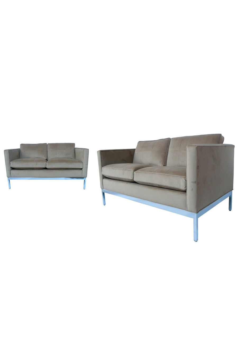 Pair of Patrician Settees