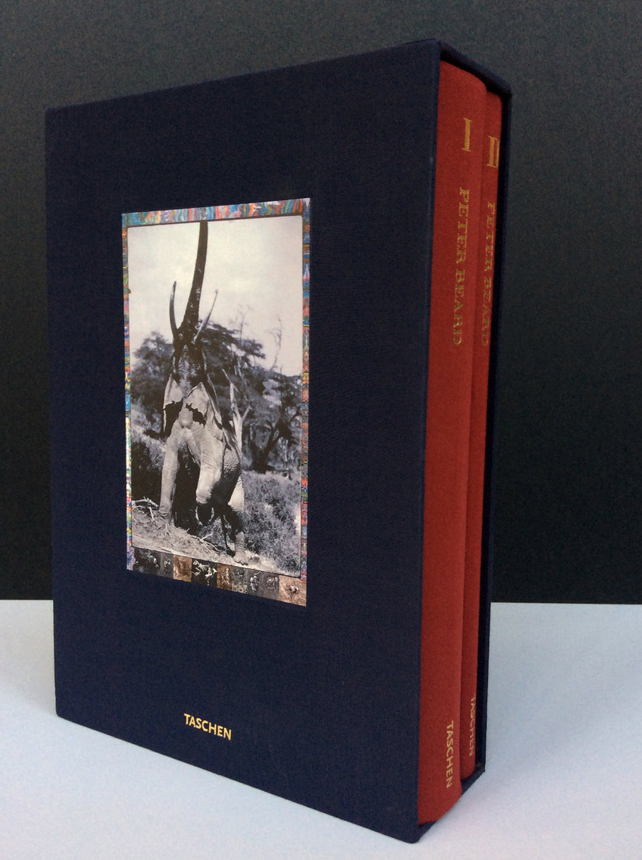 Rare Peter Beard Two-Volume Photography Monograph