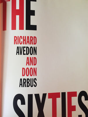 """The Sixties"" Richard Avedon - Photography Book"