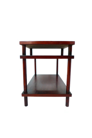 Three-Tiered Side Table by T.H. Robsjohn-Gibbings