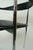 1980s Chrome & Black Rubber Dining Chairs by Fasem - a Set of 8