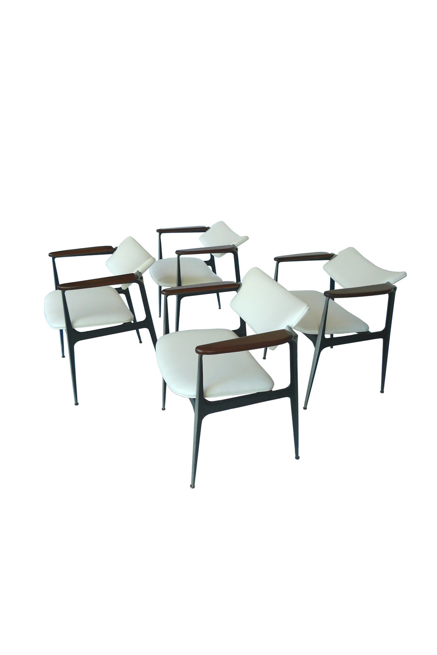 Shelby Williams Gazelle Chairs - a Set of 4
