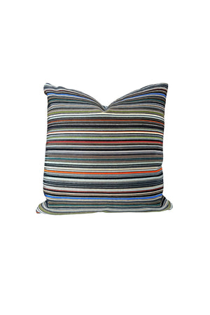 Custom-Made Pillow in Paul Smith Striped Cotton Fabric