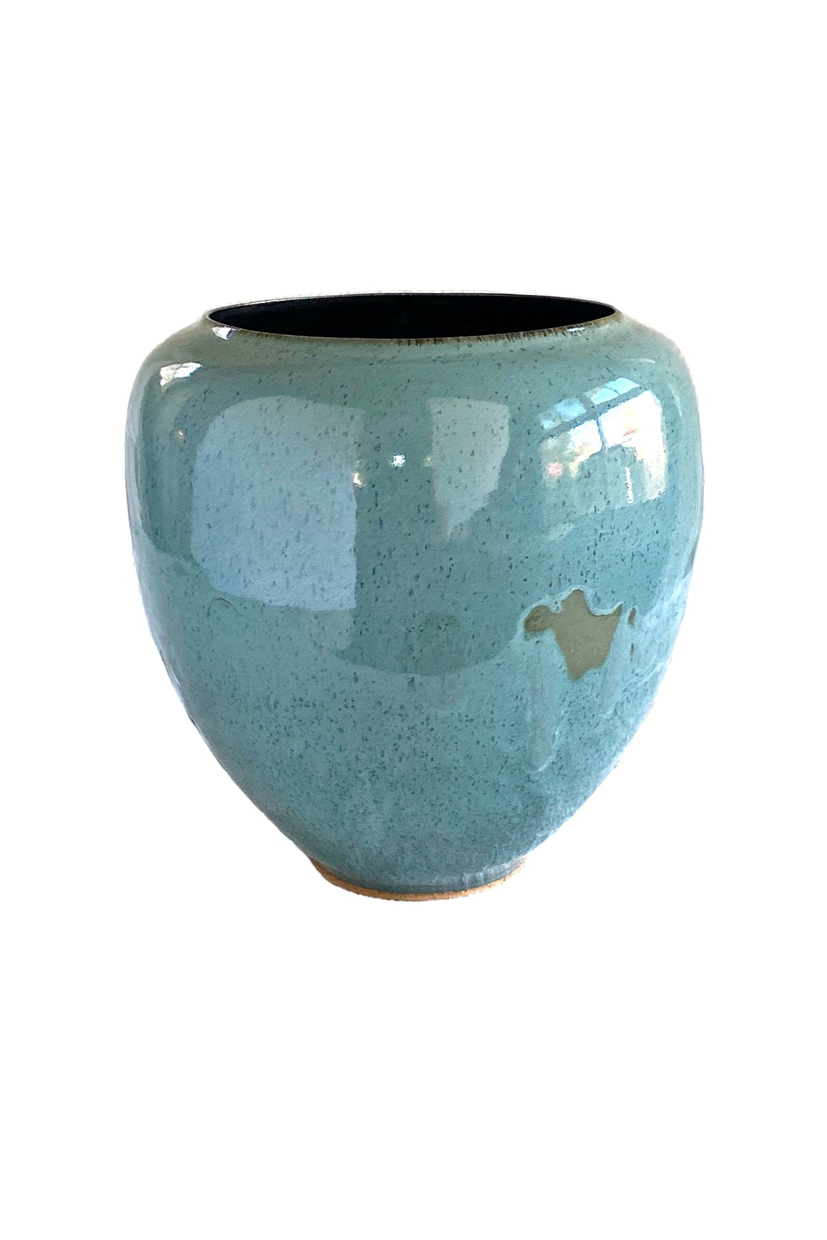 Tourmaline #5 Ceramic Vessel by Thom Lussier