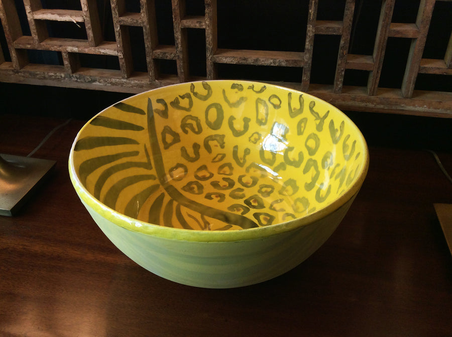 Thom Lussier Yellow Ceramic Bowl