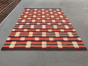 1960s Danish Reversible Rug for Bloomingdale's