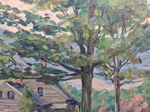 Landscape Painting by Walter King Stone