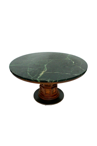Midcentury Marble Center Table by Widdicomb