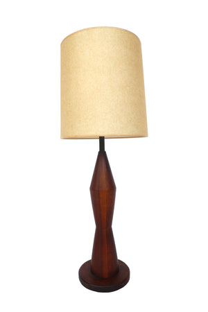 Wooden Baluster Lamp