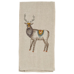 Homecoming Elk Tea Towel - KESTREL