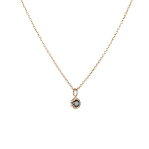 14K Black Diamond Necklace - KESTREL