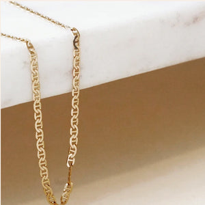 River Chain Necklace - 15""
