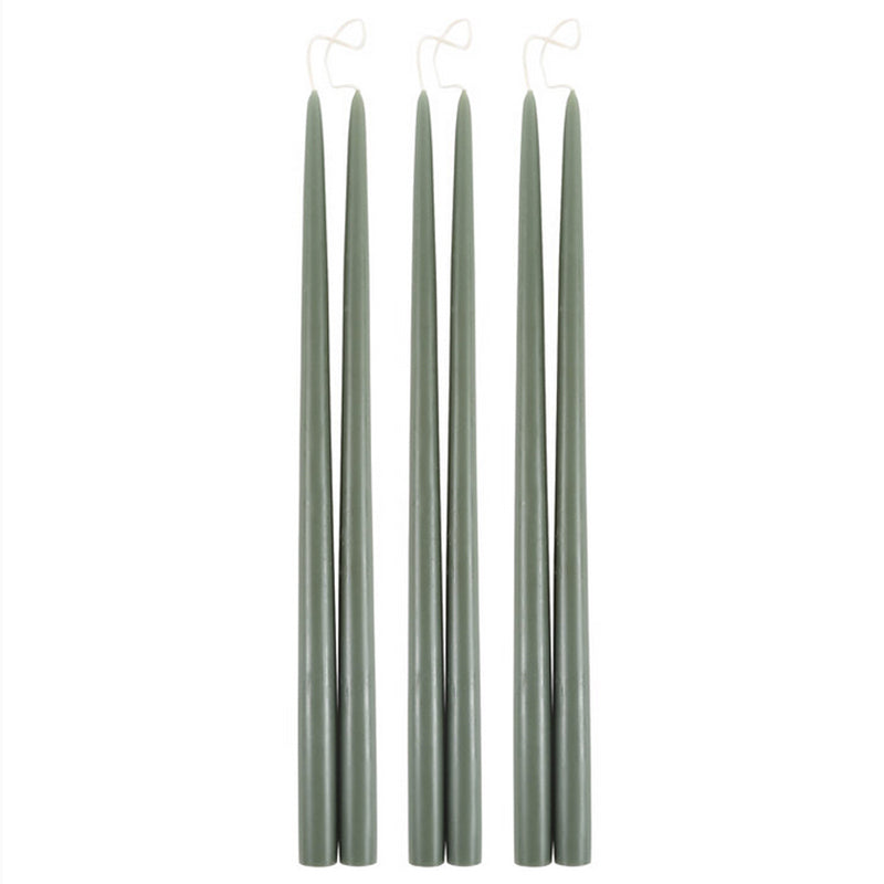 "18"" Taper Candles - Moss"