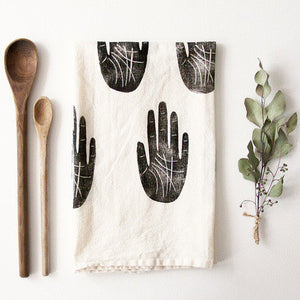 Wise Palm Tea Towel - KESTREL
