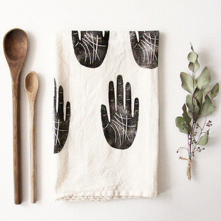 Wise Palm Tea Towel