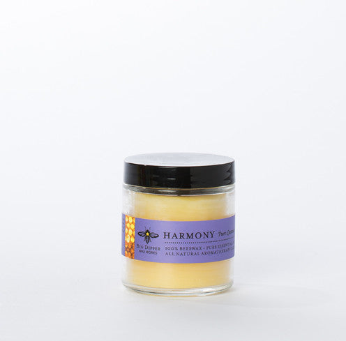 Small batch candles made from beeswax - Harmony