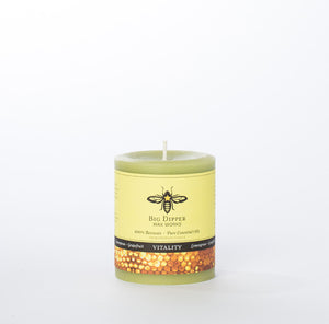 Beeswax Large Pillar Candle - KESTREL