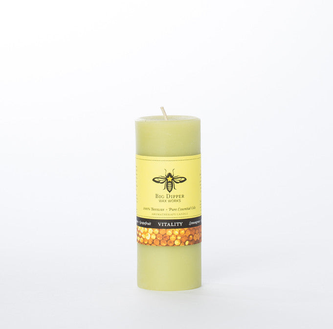 Tall Beeswax Candles - Vitality