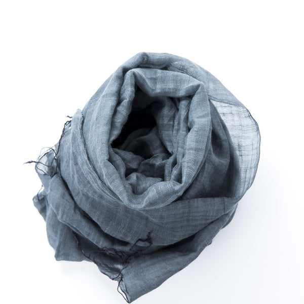 Lightweight Shawl - Smoke