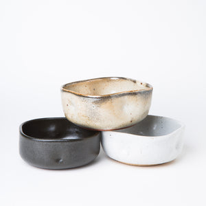 Squeeze Dessert Bowl - Coal Black - KESTREL
