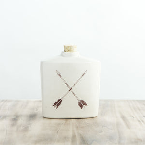 Crossed Arrows Flask - KESTREL