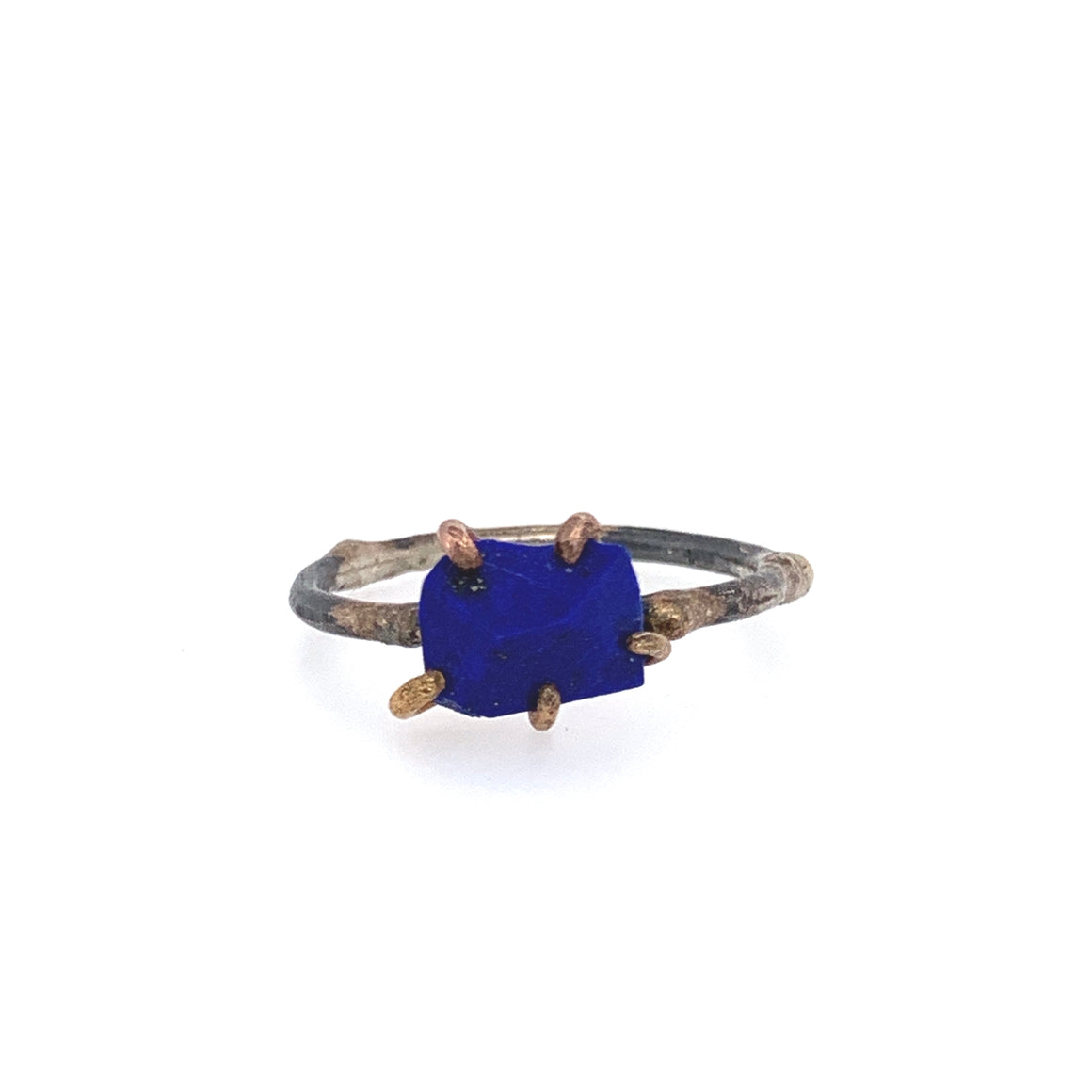 Lapis Claw Ring