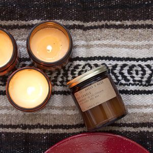 Amber + Moss Soy Candle - KESTREL