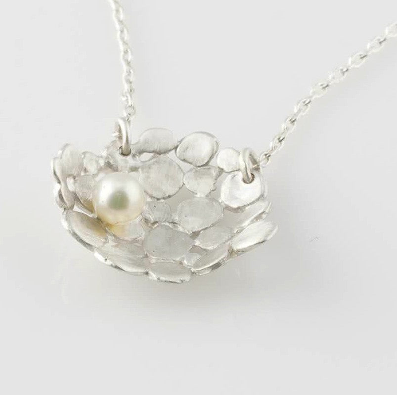 Sterling + Freshwater Pearl Necklace