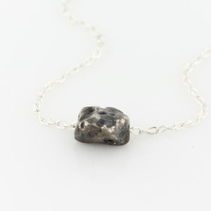 Meteorite Nugget Necklace - KESTREL