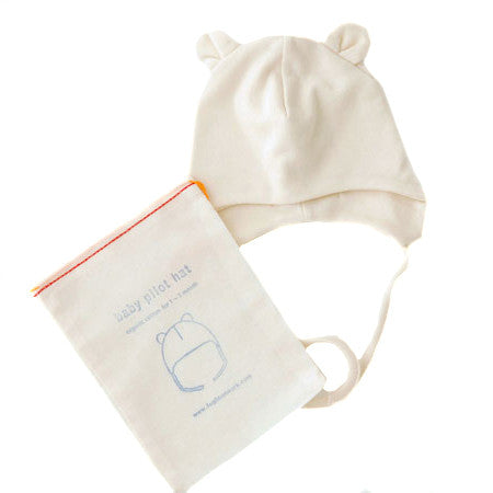 Organic Cotton Baby Pilot Hat - KESTREL