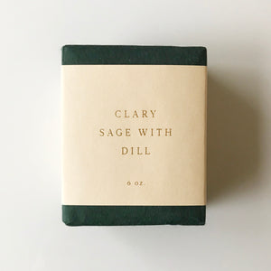 Clary Sage w/ Dill Bar Soap - KESTREL