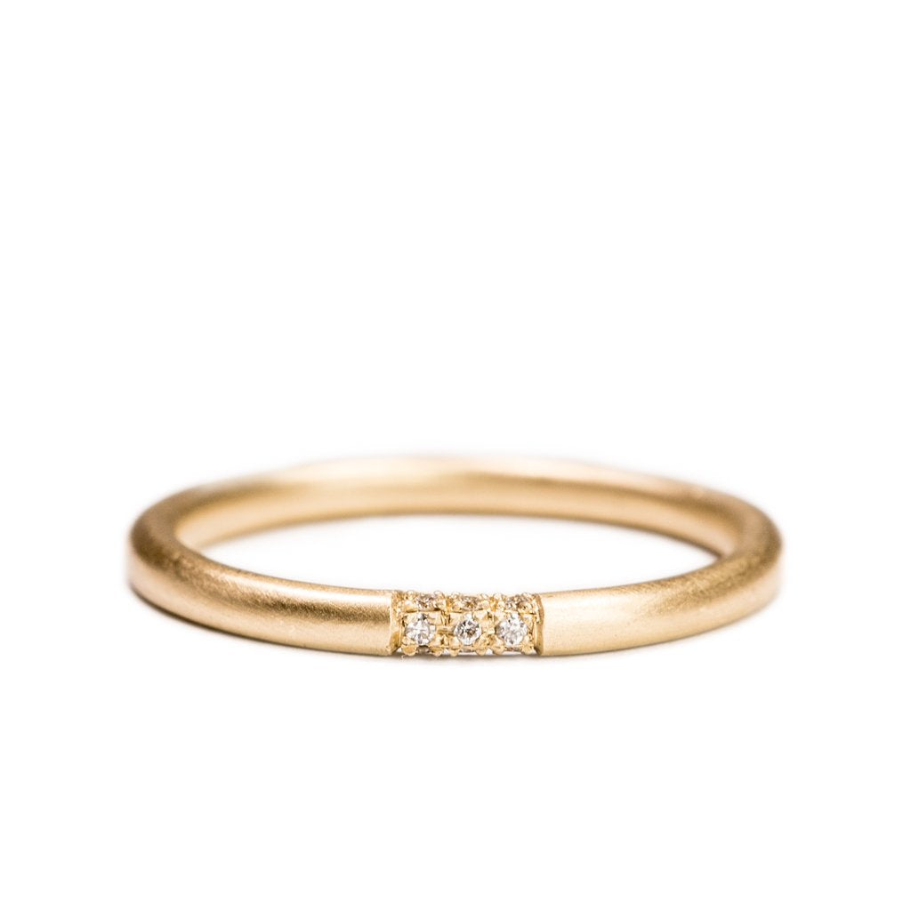 Perfectly Round - Diamond Wrap Band