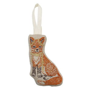 Fox + Tinsel Ornament