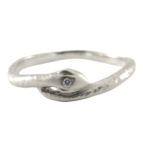 Serpent Ring - Sterling