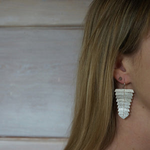 Fishbone Earrings - Slim