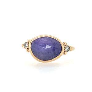 Tanzanite Ring w/ Diamonds