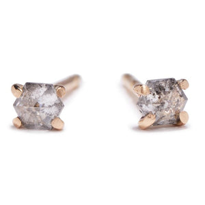 Diamond Hex Studs - KESTREL