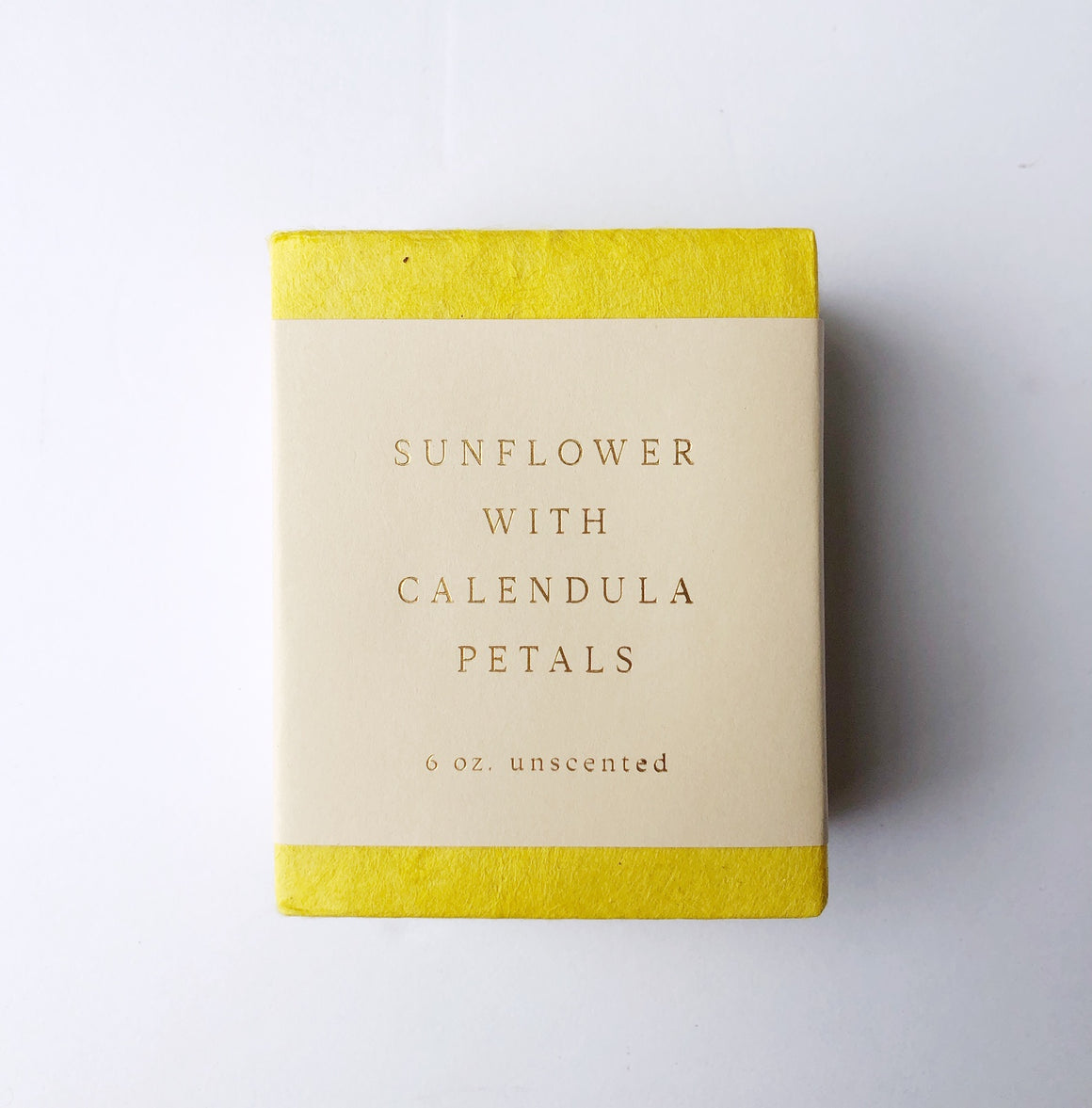 Sunflower Calendula Petal Soap