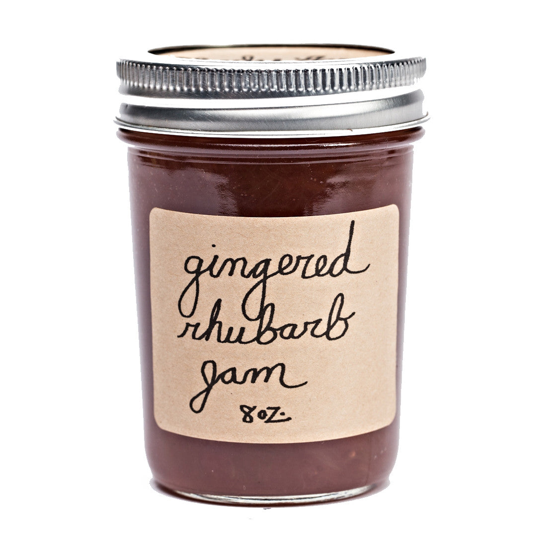 Gingered Rhubarb Jam - KESTREL