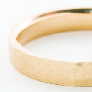 **14k 4mm Men's Narrow Band** - KESTREL