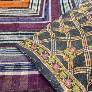 Vintage Kantha Throw - 7*