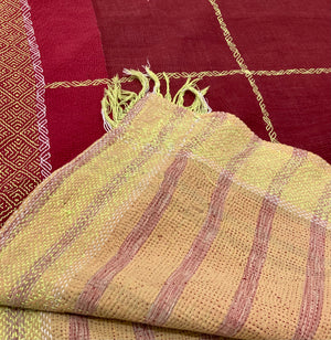 Vintage Kantha Throw - 10*