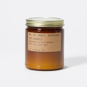 Sweet Grapefruit Soy Candle - KESTREL
