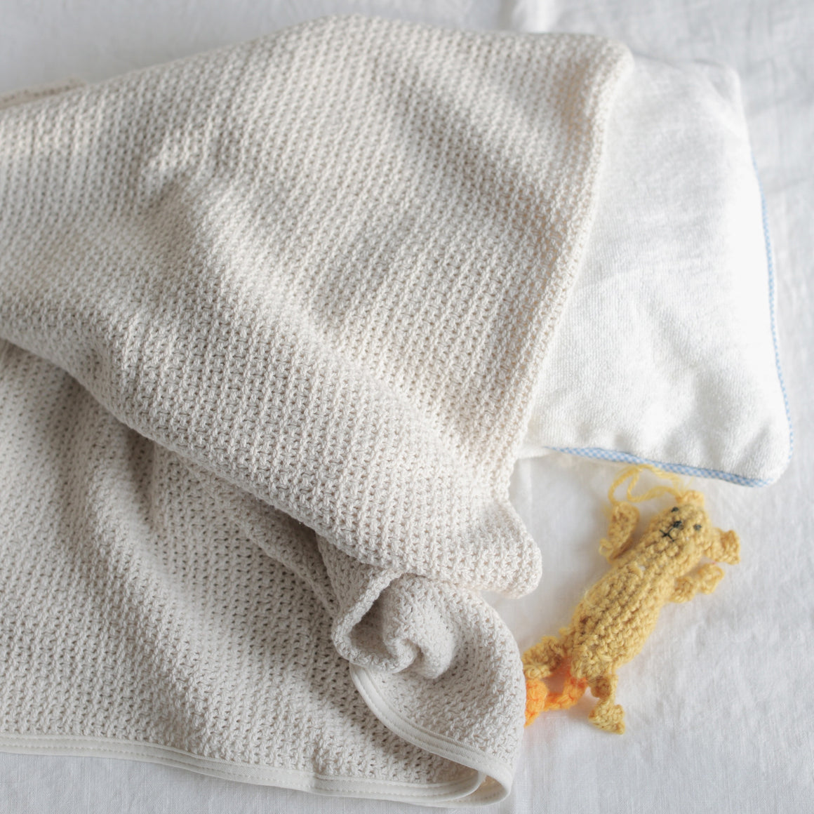 Organic Cotton Baby Blanket - KESTREL