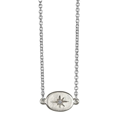 Starry Sky East-West Necklace