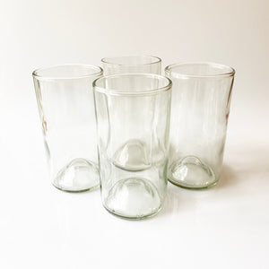 Tall Clear Recycled Glass Tumbler (16oz)