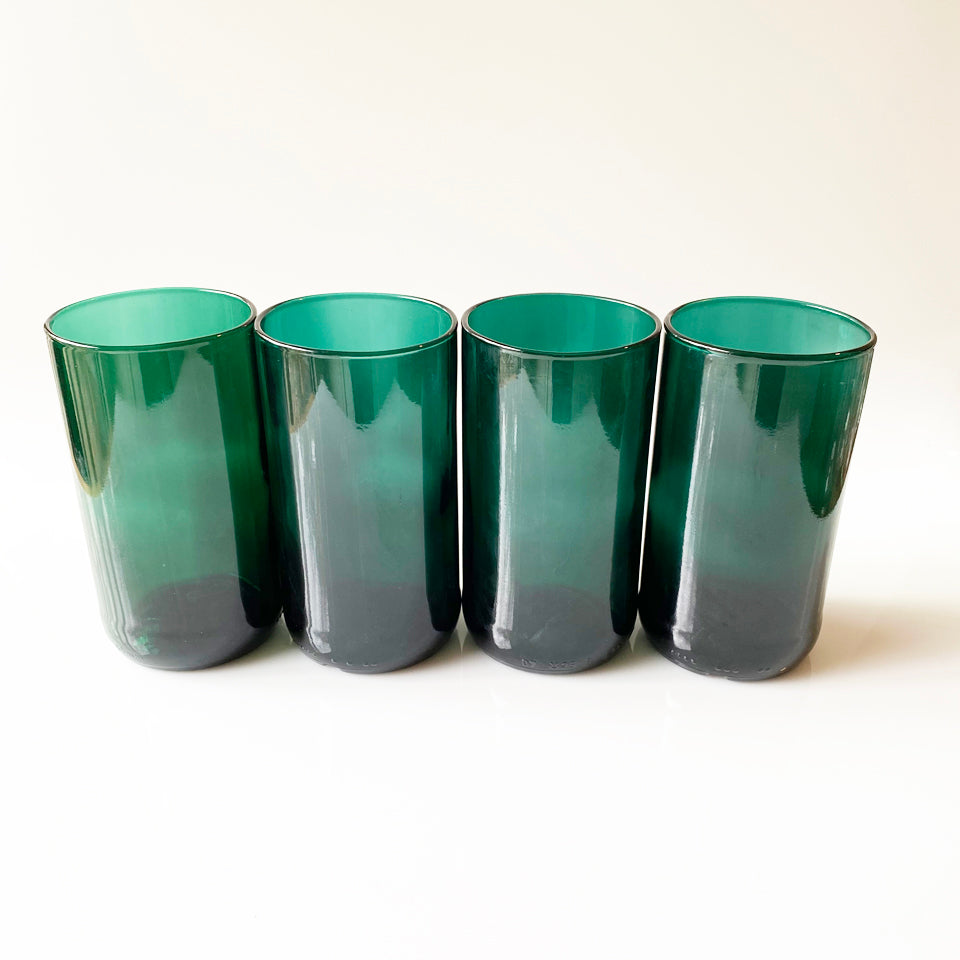 Teal Recycled Glass Tumbler (Tall 16oz)